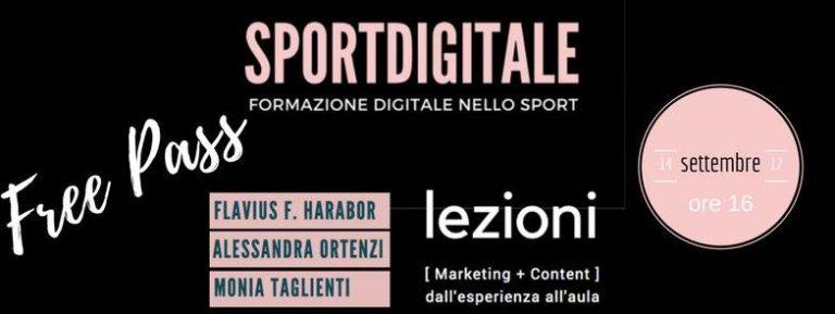 Marketing Sportivo – Lezioni operative