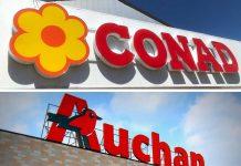 Conad compra Auchan
